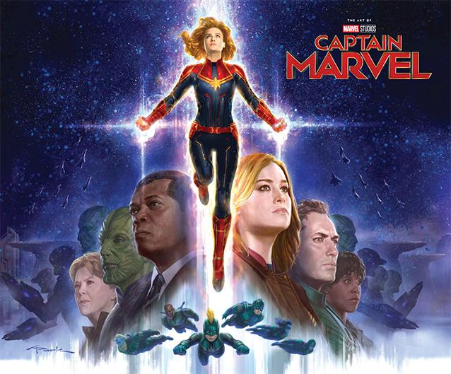 Captain Marvel Libro