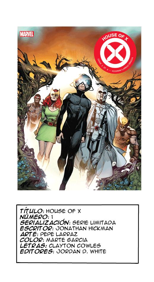 House of X portada