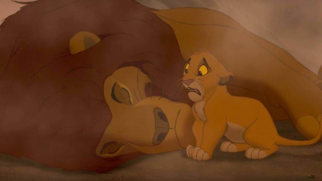 El rey leon simba y mufasa