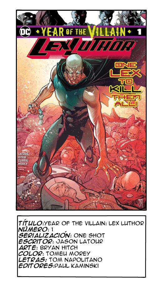 Year of the Villain: Lex Luthor
