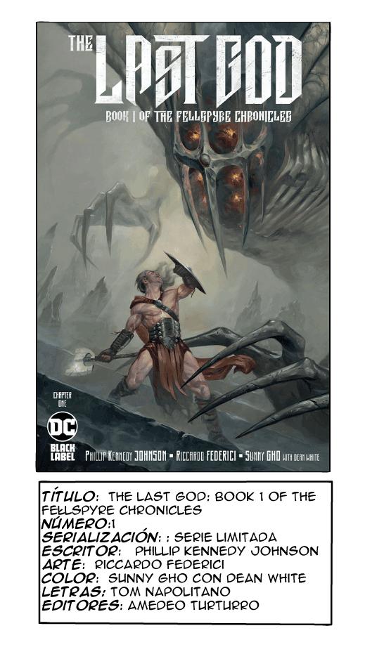 The Last God: Book 1 of the Fellspyre Chronicles