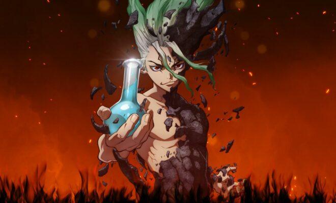 dr stone uno de los mejores animes de la temporada