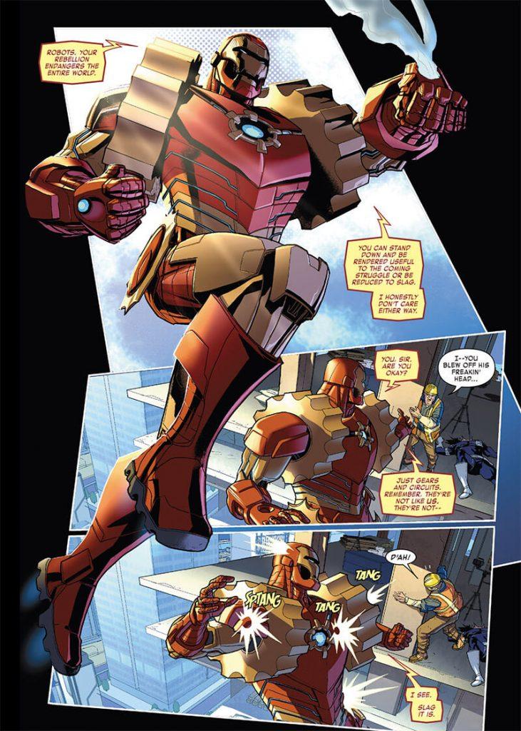 Cómic de la semana: Ironman 2020