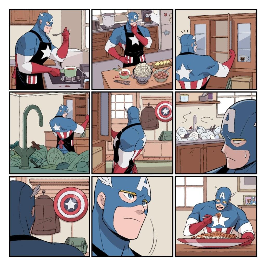 Heroes at Home de Marvel