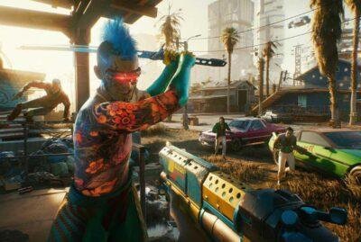 cyberpunk videojuego