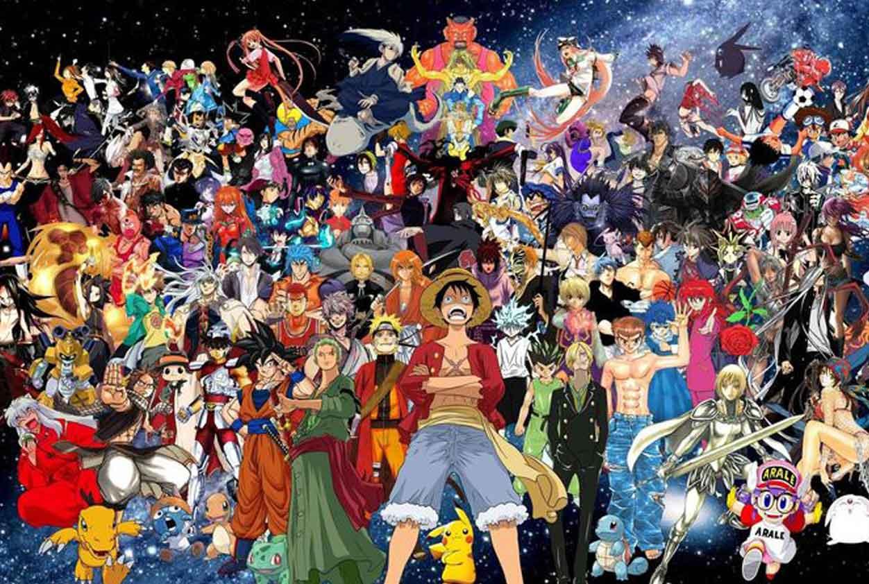 personajes mas populares de anime