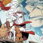 Un perro, un gato..¿Quiénes son? ¡La Legión de Súper Mascotas de DC!