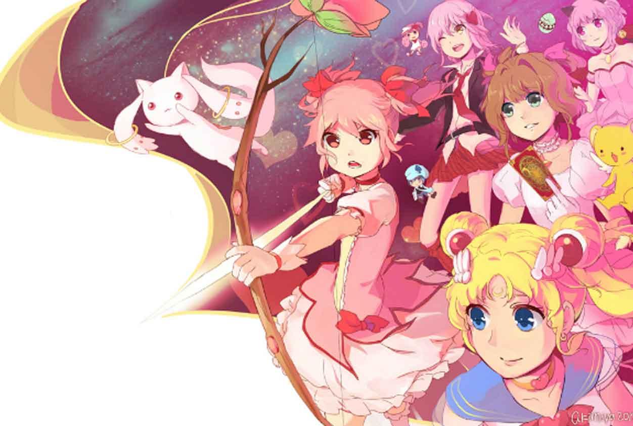 magic girls series animadas