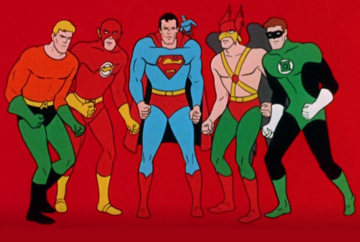 series animadas superheroes