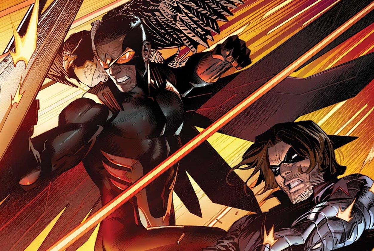 falcon y winter soldier en los comics