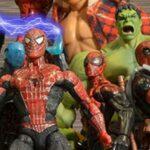Superhéroes de Marvel y DC en stop-motion